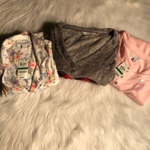 Charter Club pajama tops lot NWT